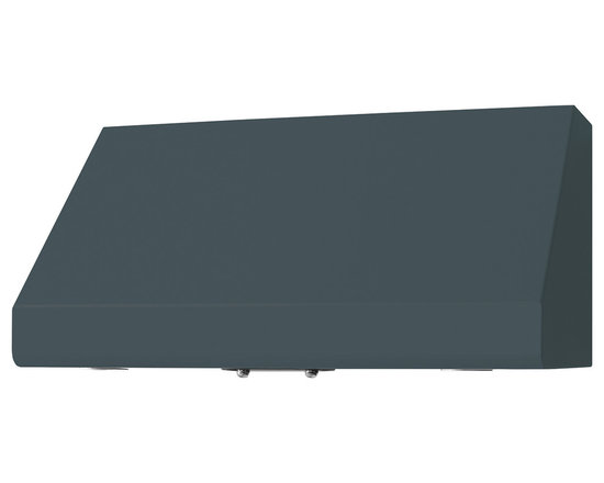 "36"" Prizer Incline Hood in Iron Grey (RAL 7011) - Iron Grey (RAL 7011)"