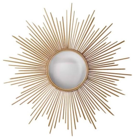 Sunburst Mirror - Modern - Wall Mirrors - by SimplyMirrors