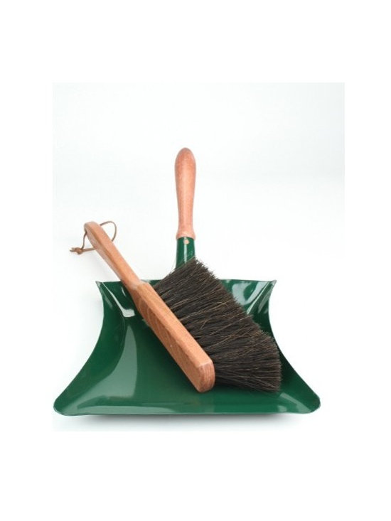 Garden Dust Pan and Brush -