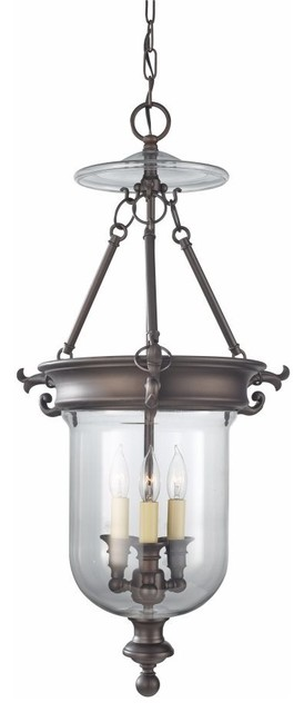 Murray Feiss Lighting-F2802/3ORB-Luminary - Three Light Hall Chandelier traditional-chandeliers