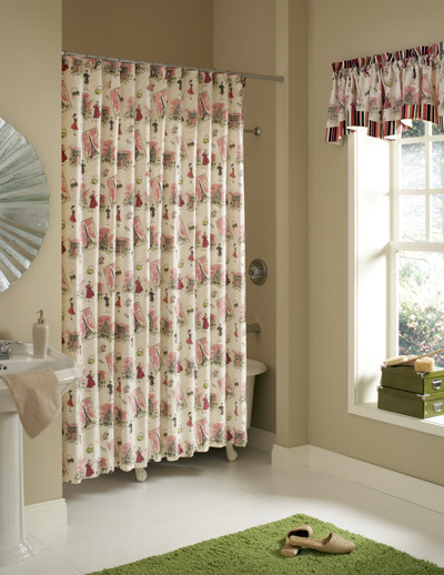 Custom Sized Shower Curtains Shower Curtains Dc Metro By Fashion Window Treatments