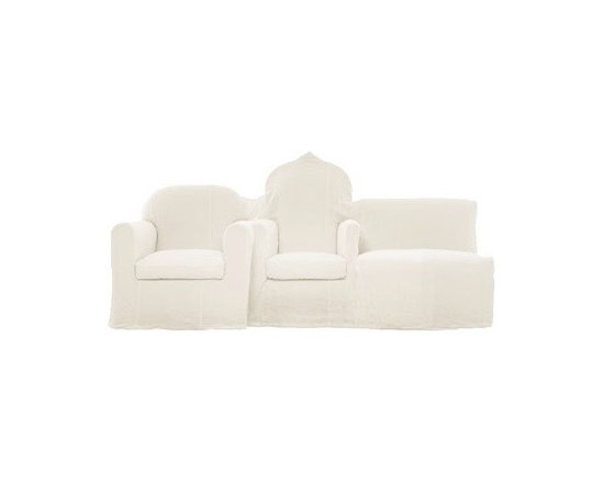 Eco Friendly Furnture and Lighting - The Groupe sofa was designed by Maison Martin Margiela for Cerruti Baleri in Italy. Recuperation, transformation and reinterpretation: the essential concepts of Maison Martin Margiela.