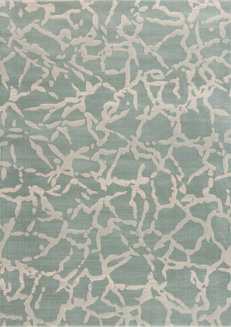 "Eclipse 601-400 6'7"" x 9'6"" Sage Rug contemporary-rugs"