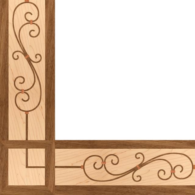 Oshkosh Designs Filigree Inlay Border And Corner