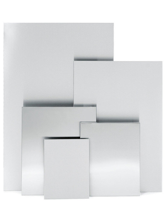 """Blomus - Muro Magnetic Note Boards - 15.7"""" x 19.7"""" - Stainless steel magnetic boards available in 5 sizes."""