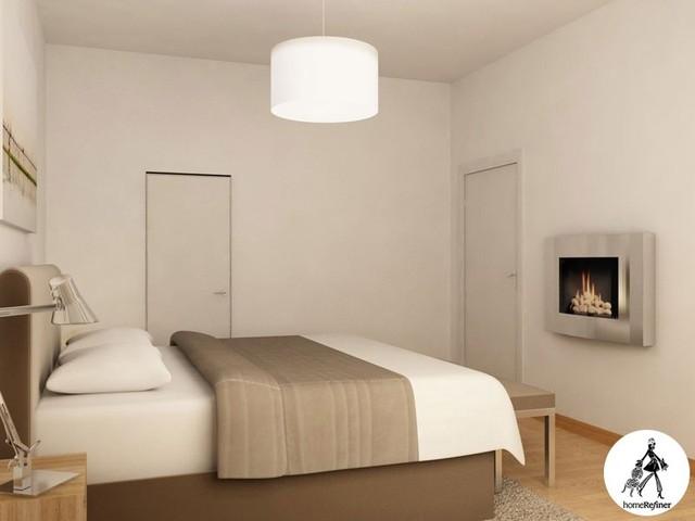 Bachelor Pad Designed In 3D Photo Realistic Renderings, Chelsea NYC modern-rendering