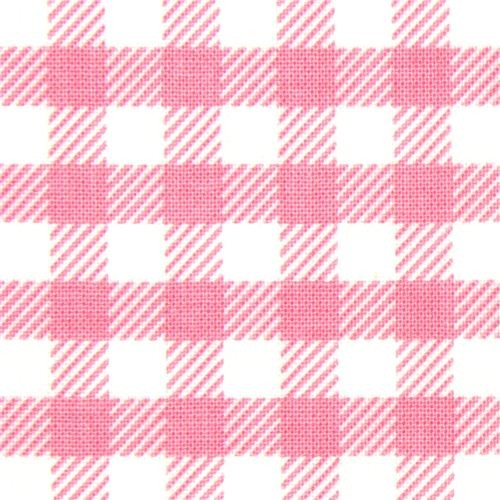 fabric ceiling decorating ideas - pink checkered Michael Miller fabric Gingham pattern