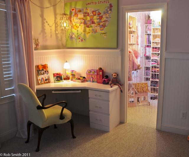 Little girls room eclectic