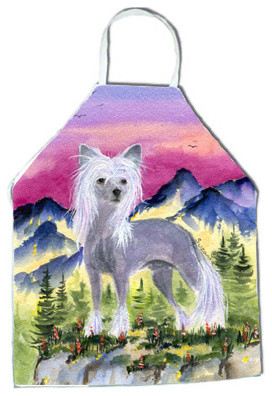 Chinese Crested Apron SS8326APRON aprons