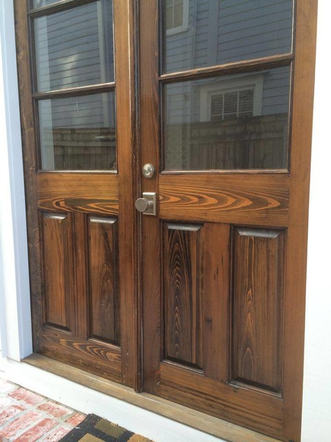 custom reclaimed cypress exterior doors front doors new orleans by southern arch llc