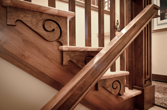 Stair Detail traditional
