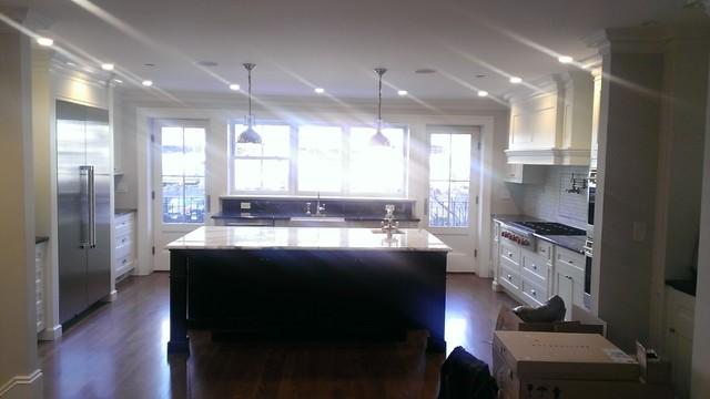 Boston South End Single Family traditional-kitchen