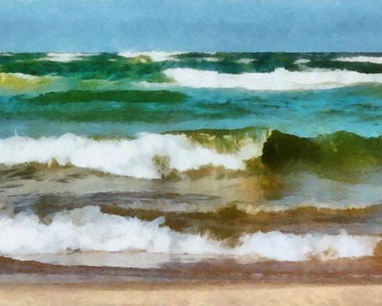 Waves Crash -