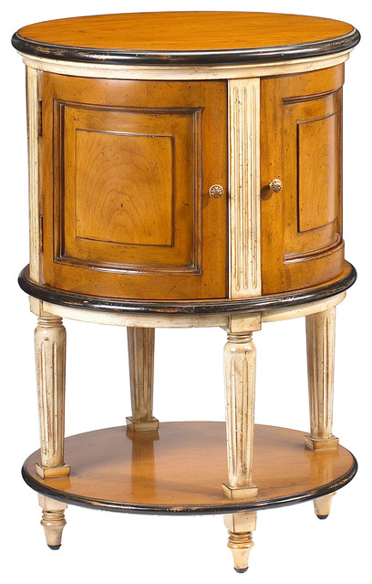 Lilles Laon Drum Table traditional-nightstands-and-bedside-tables