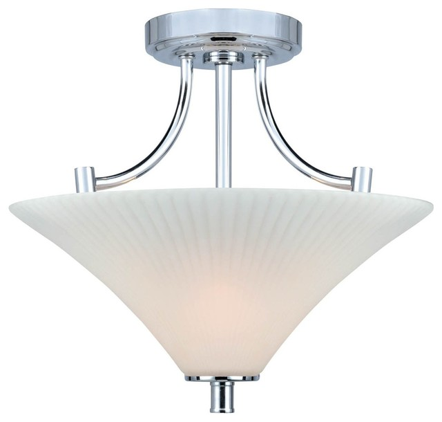 Lite source ragnar modern contemporary semi flush mount for Semi flush mount lighting modern