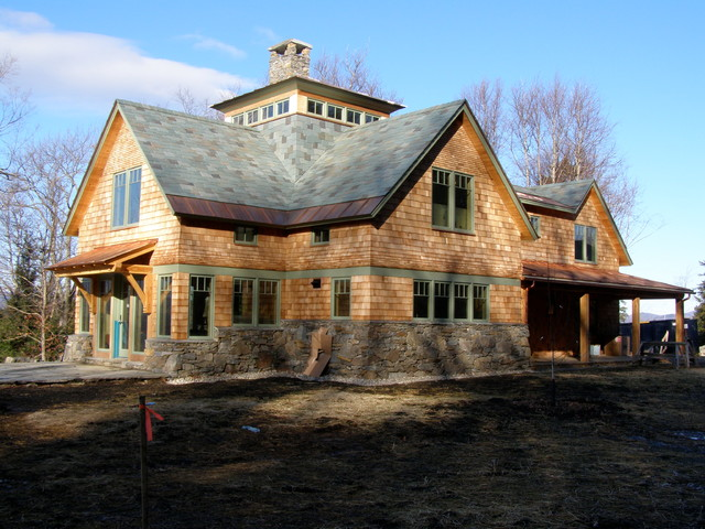 Mixed Slate Roof - other metro - by Vermont Structural Slate Company