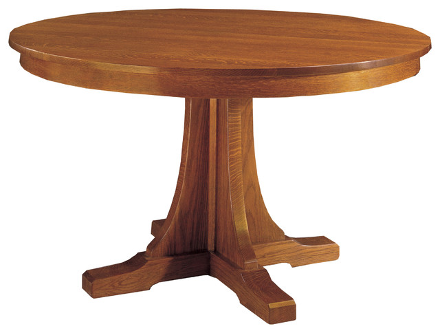 Stickley Round Pedestal Dining Table 8991 713