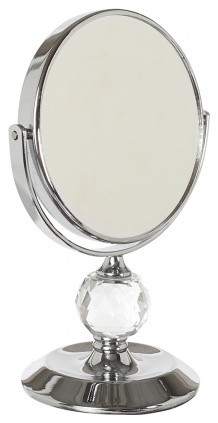 Small Pedestal Bling Mirror X5 Magnification