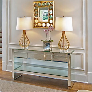 Worlds Away Furniture eclectic side tables and accent tables