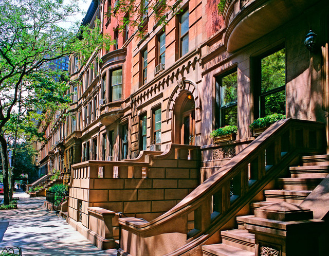 upper west side brownstones wall art contemporary westside provencal schuyler samperton interior design