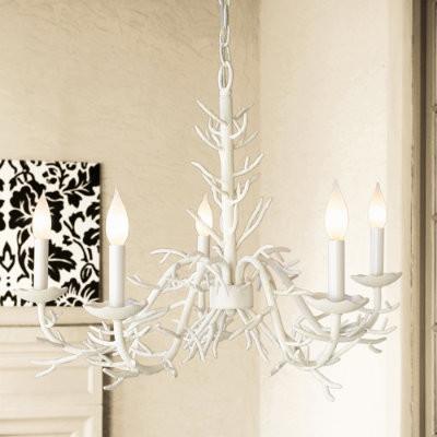Coral Chandelier eclectic-chandeliers