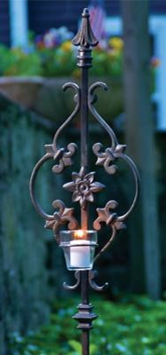 Strength Candle Holder traditional-gardening-tools