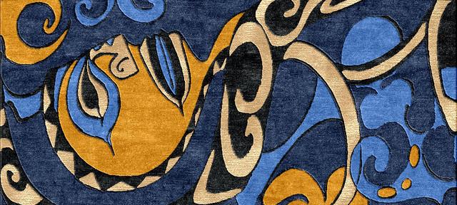 Kim McDonald Hawaiian Custom Rug Designs eclectic-rugs