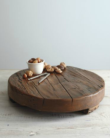 Round Wooden Trivet traditional serveware