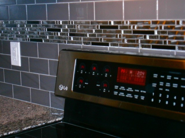 """Backsplash on a Budget""  Cost efficient way to upgrade Your kitchen. contemporary"