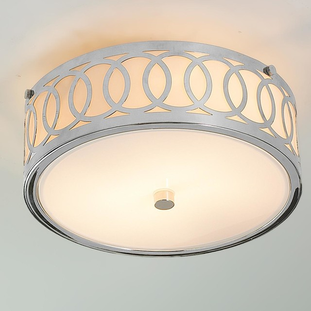 Small Interlocking Rings Flush Mount Ceiling Light Flush Mount Ceiling Ligh