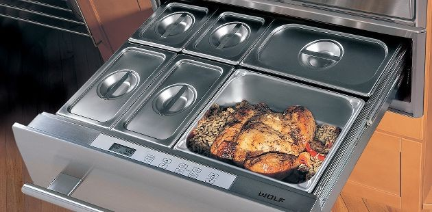 Wolf 30 Warming Drawer  ovens