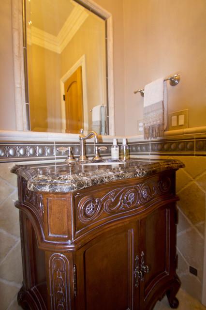 Elegant Powder Room traditional-powder-room