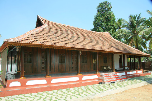Traditional kerala style home for Kerala traditional home
