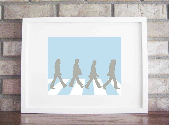 Beatles Collections Print By Lily Gene contemporary-nursery-decor