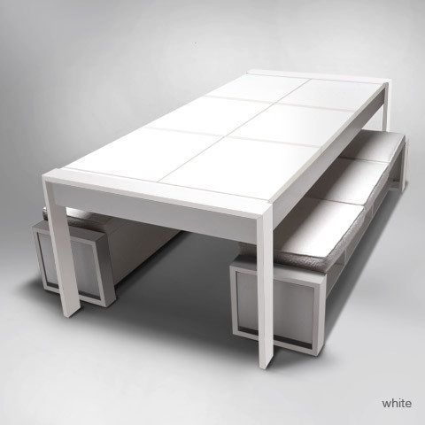 ducduc the table bench kids-tables