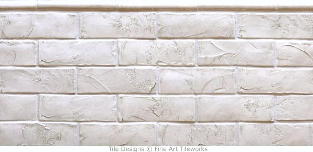 Subway Tile   Traditional   Tile   portland   by Fine Art Tileworks