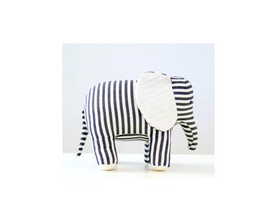 Beautifully Hand-Stitched Elephant -