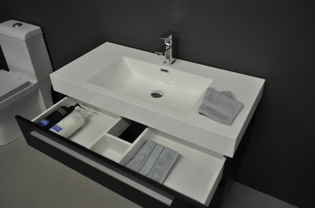 Bathroom ideas on pinterest bathroom sink faucets small Bathroom sink cabinets modern