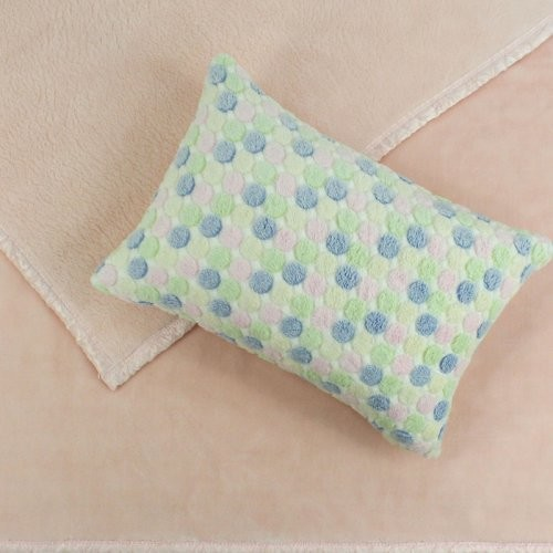 Chooty & Co. Princess Pink coverlet with Baby Candy Cuddle Dot Pillow contemporary kids bedding