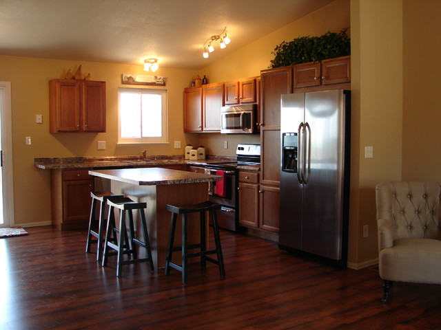 ... - Transitional - Kitchen - denver - by Castle Kitchens and Interiors
