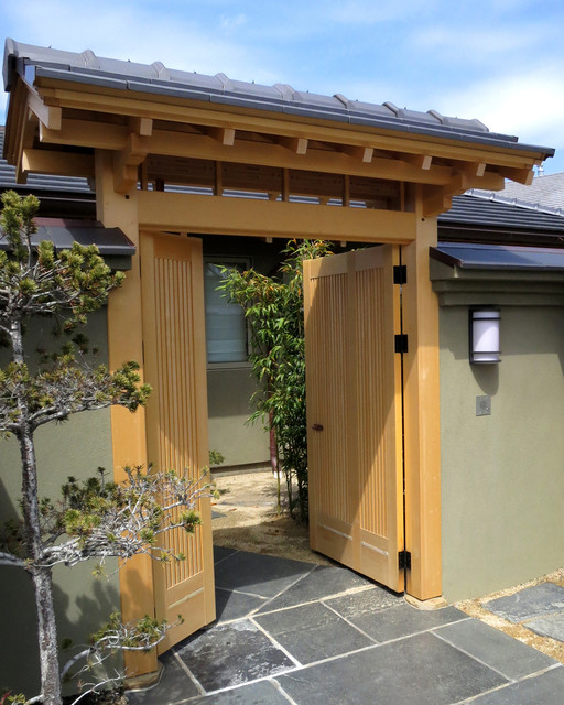 Japanese style Entrance Gate Asian San Francisco By