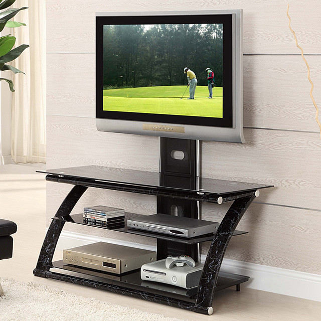 ... Metal And Glass Tv Stand. View Images ...