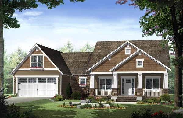 The Westwood Lane Cottage House Plan traditional-exterior-elevation