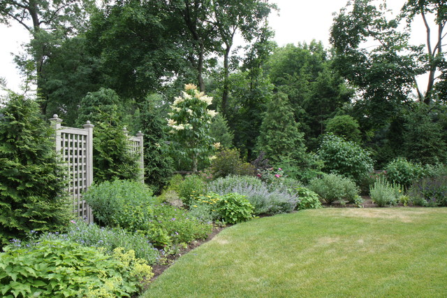 A formal english garden traditional other metro by for Formal english garden designs