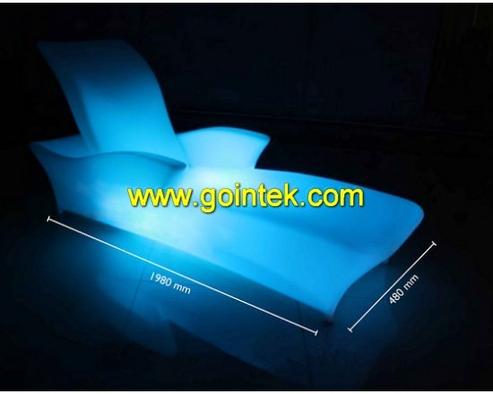 led bench with 16 colors -