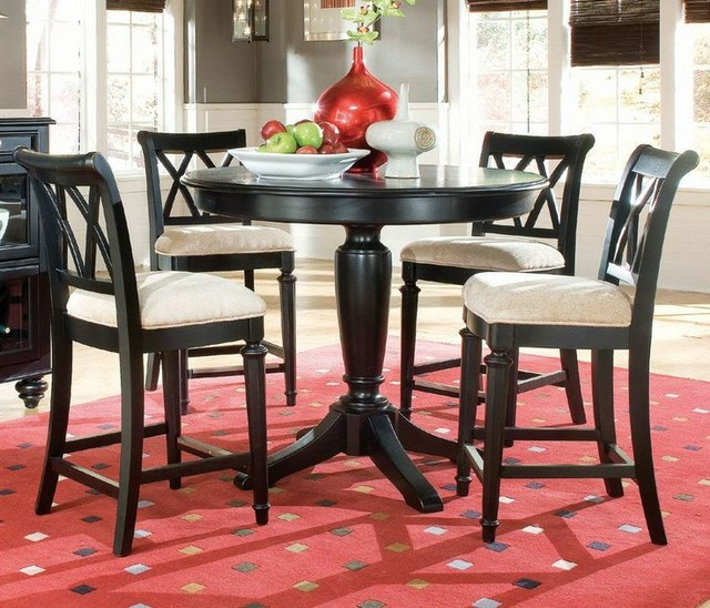 Counter Height Round Dining Set : ... Round Counter Height Dining Set, American Drew transitional-dining