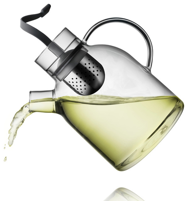 Kettle Teapot, Glass With Tea Egg contemporary-kettles