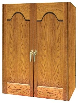 Vinotemp 230FT Two Door Furniture Trim 160 Bottle Wine Cooling Cabinet modern-wine-and-bar-tools
