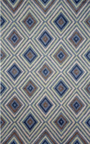 Ravella Kallia Denim Indoor / Outdoor Rug modern-rugs