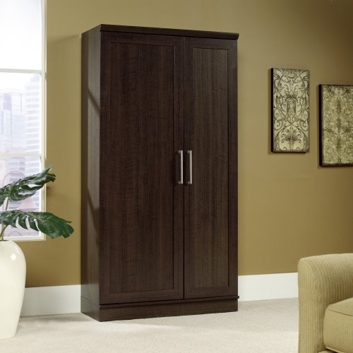 Sauder Homeplus Swing Out Storage Cabinet - Contemporary - Storage Cabinets - by Hayneedle